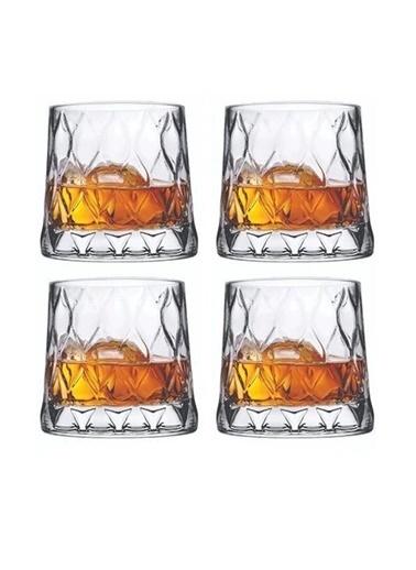Paşabahçe 520065 4 Lü Su Bardak - Su Meşrubat Bardağı Özel Seri Renkli